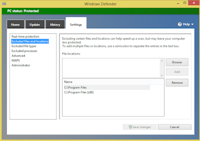 Exclude File