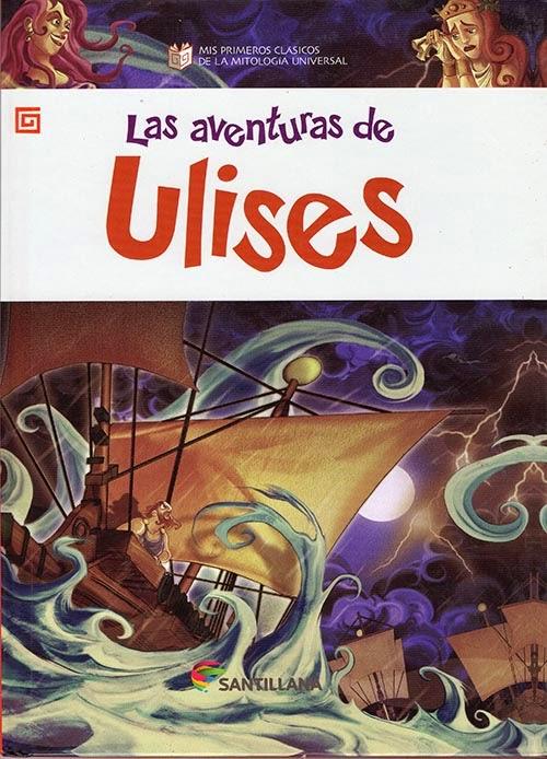 Las aventuras de Ulises -  Edit. Santillana