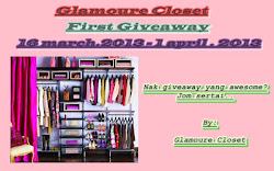 Giveaway by Glamoure Closet