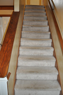 Reclaim ologists and other crafty chicks staircase transformation - Refurbish stairs budget ...