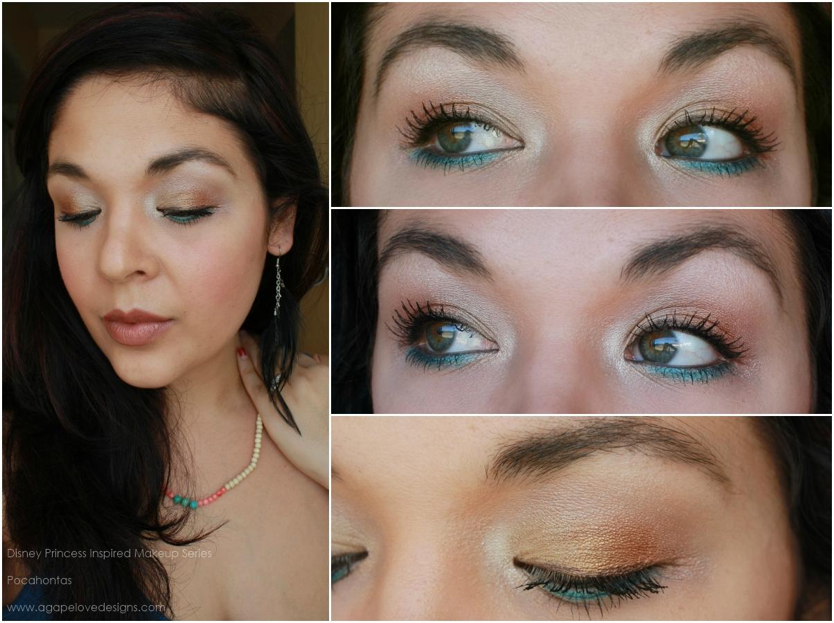 Agape love designs pocahontas inspired makeup pocahontas inspired makeup baditri Images