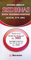 UU RI No 20 Tahun 2013 Sistem Pendidikan Nasional