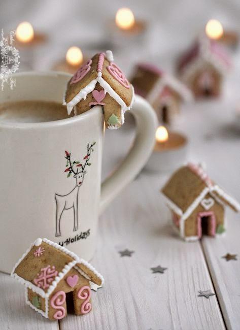 biscoitos de natal, casinha de natal, natal