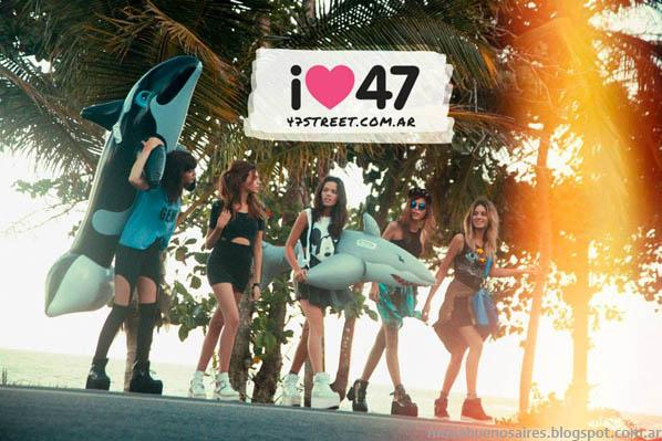 47 Street primavera verano 2014