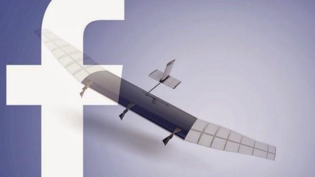 facebook sky internet drone
