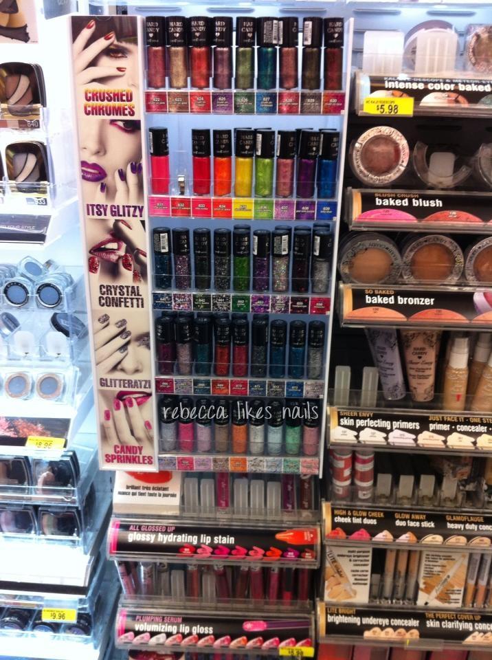 rebecca likes nails: new nail goodies @ Shoppers & Walmart!