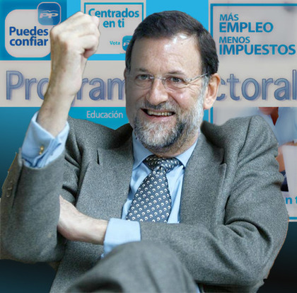 Rajoy, mentiroso,