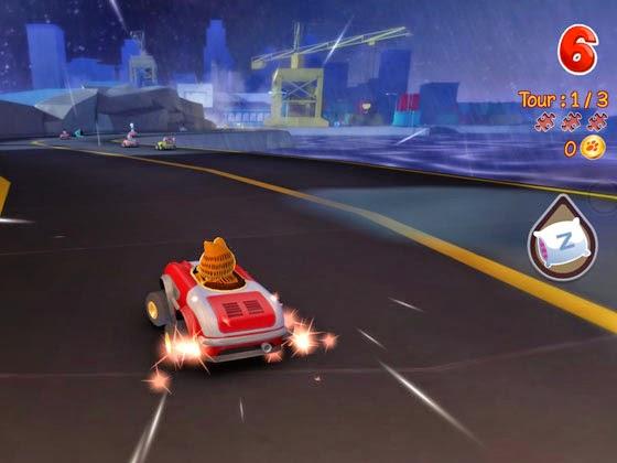 Download Game Menarik Garfield Kart Gratis
