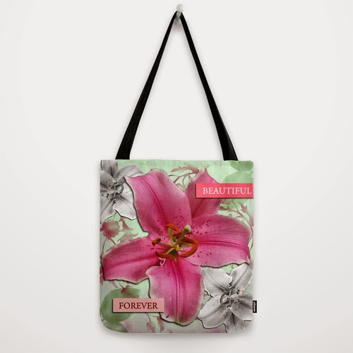 """Beautiful Forever"" Tote bag"