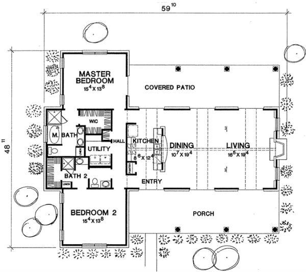 Planos de casas modelos y dise os de casas planos de - Planos de casas de planta baja ...