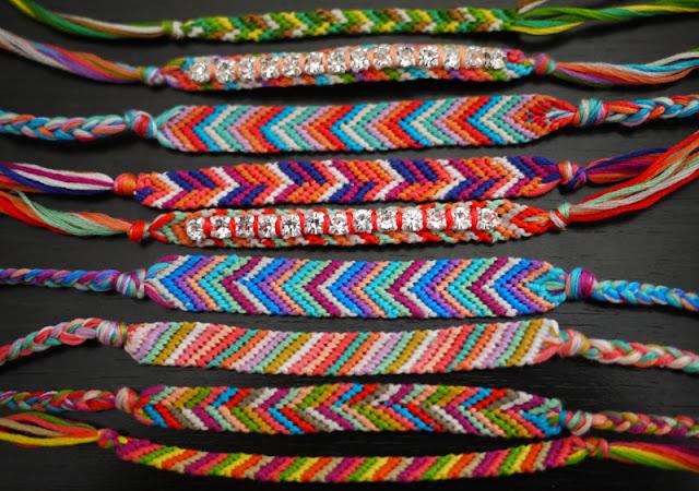 DIY : 7 tutoriales de pulseras veraniegas