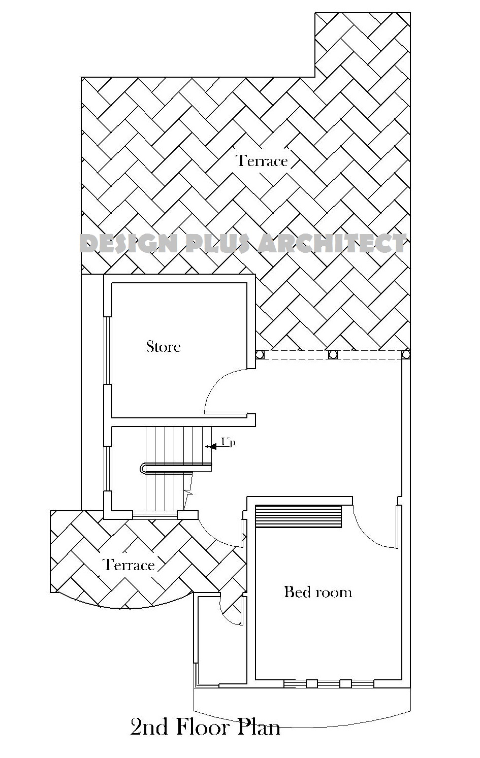 6 Marla 2D Home Design Covered Area