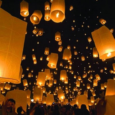 WB Blog: Sky Lanterns
