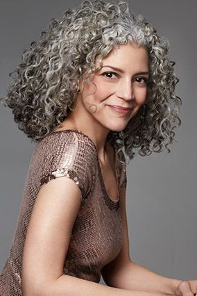 silver and curly trendy and powerful the haircut web