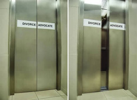 Rajab Al Kathiri & Associates creative ads in elevators