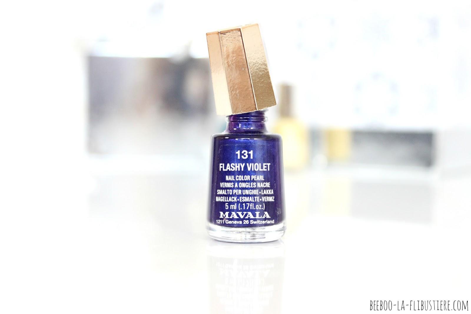 vernis n°131 flashy violet mavala