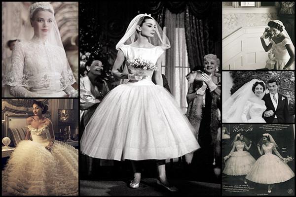 50s Style Wedding Dresses Inspire You   Women S Fashion