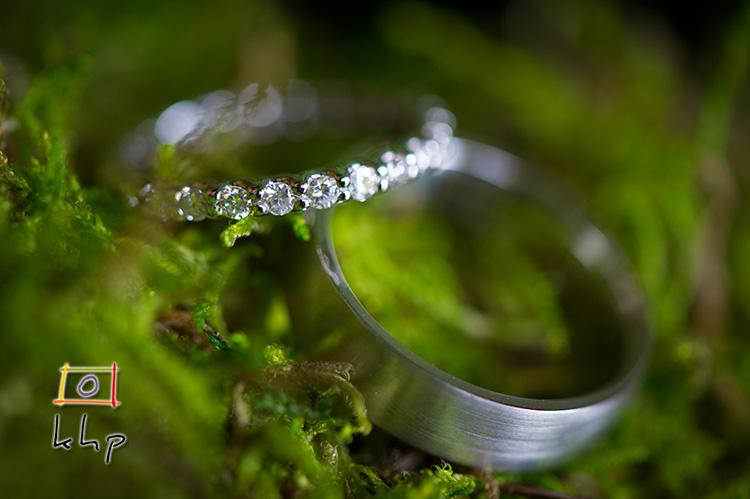 Bride and Groom's rings...