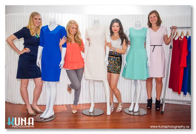 helen jean dresses on maniquins, Rachel McHollister, Jasmine Zhu, Natalie Langston, Katie Jeanes