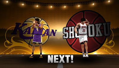 NBA 2K13 Slamdunk Mod - Kainan vs Shohoku