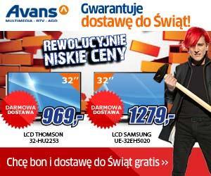 2000zł na zakupy w sklepach Avans gwarantowane bony