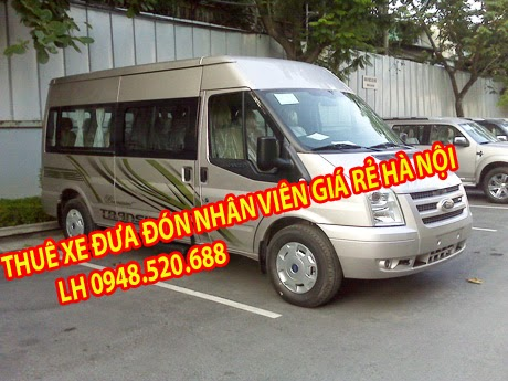 dịch vụ thuê xe phục vụ đưa đón nhân viên
