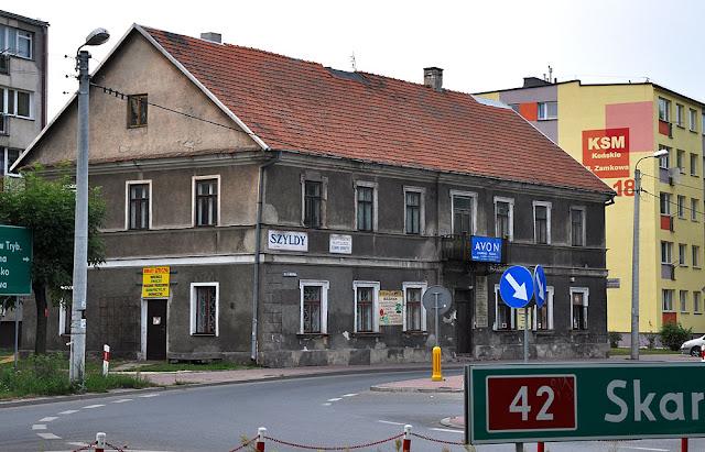 Końskie, dom przy ul. Zamkowej 20. Widok kamienicy od strony wschodniej. Fot. KW.