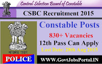 BIHAR RECRUITMENT 2015