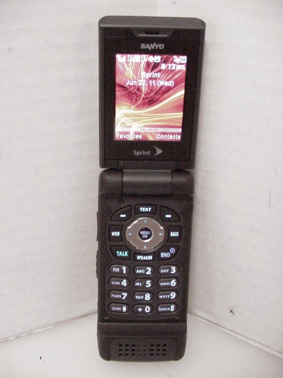 military standard phone cell phone rugged sprint sanyo
