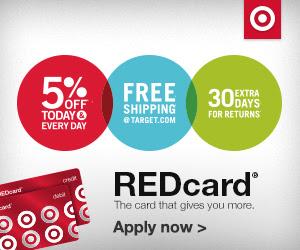 Target REDcard Savings