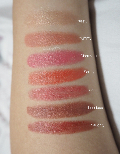 Jane Iredale PlayOn Lip Crayon Swatches Review Lunarrive Singapore Lifestyle Blog