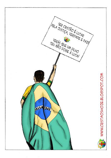Cristãos Hoje Carlos Chagas manifestação revolta política