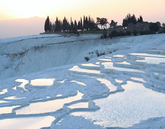 PAMUKKALE at TURKEY