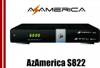 AZAMERICA S822  NOVA  ATUALIZAÇÃO  DISPONIVEL