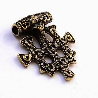 бронзовый молот тора рюген древо жизни скандинавская