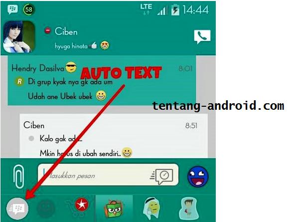 BBM MOD Tema Material II v2.8.0.21 Apk Android