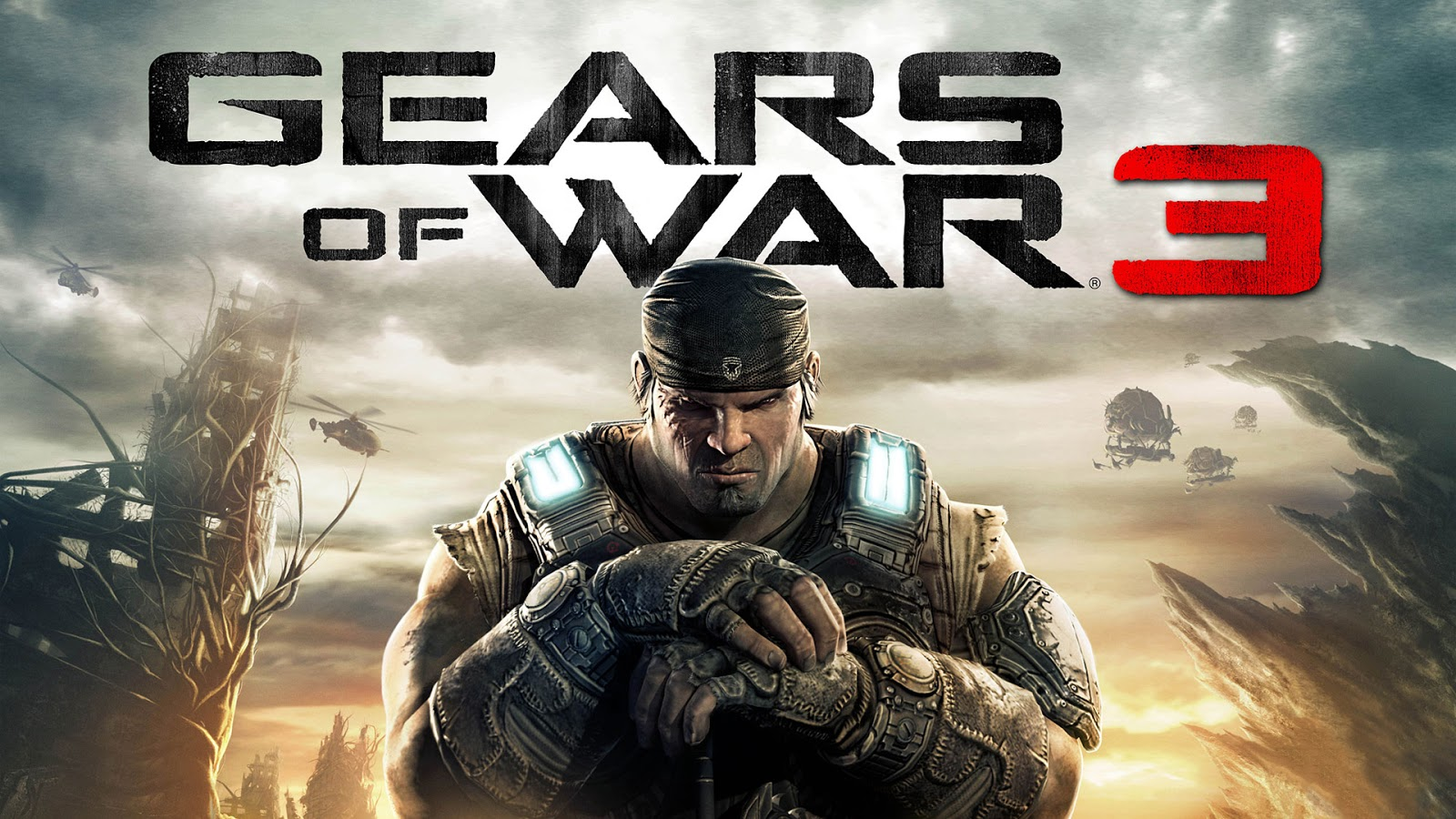 Gears of War HD & Widescreen Wallpaper 0.762850218230713