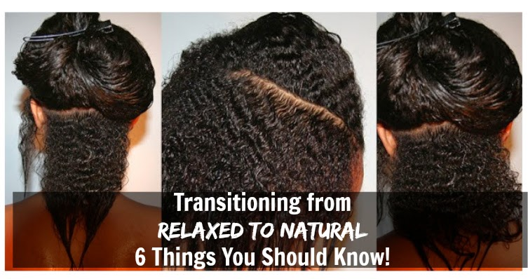 Transitioning To Natural Hair Care Products