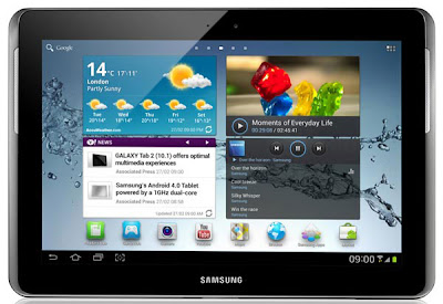 Samsung Galaxy Tab 2 7.0 and 10.1, available from April