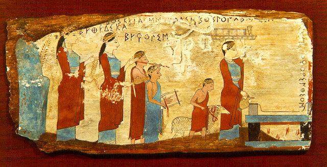 Galer 237 a virtual de arte griego pinturas periodos arcaico cl 225 sico