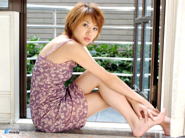 Japanese Celeb Actress and Model Fujisaki Nanako