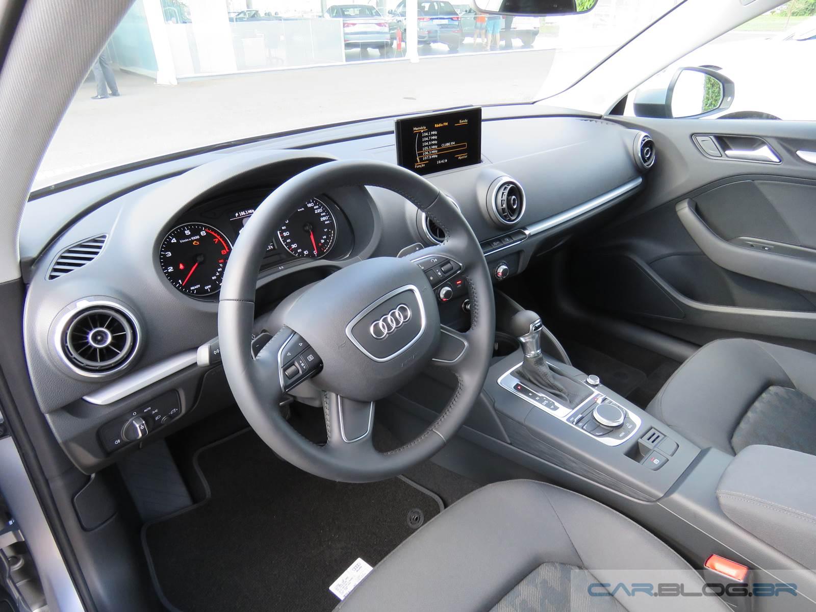 Novo Audi A3 Sedan 1.4 Flex Nacional - interior