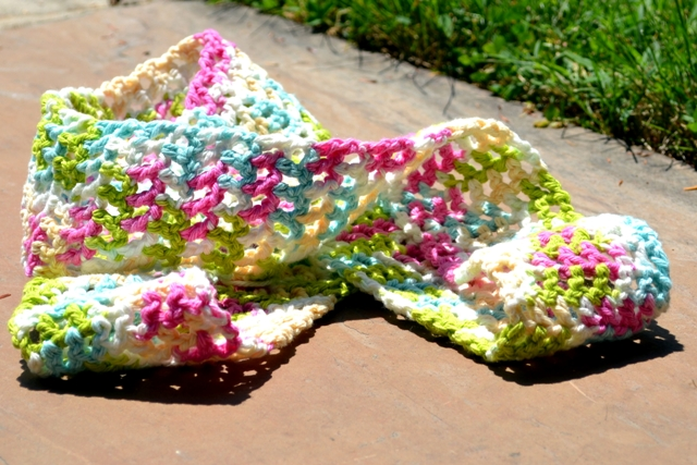 Fly The Coop Crafts Skinny Spring Scarf Crochet Pattern
