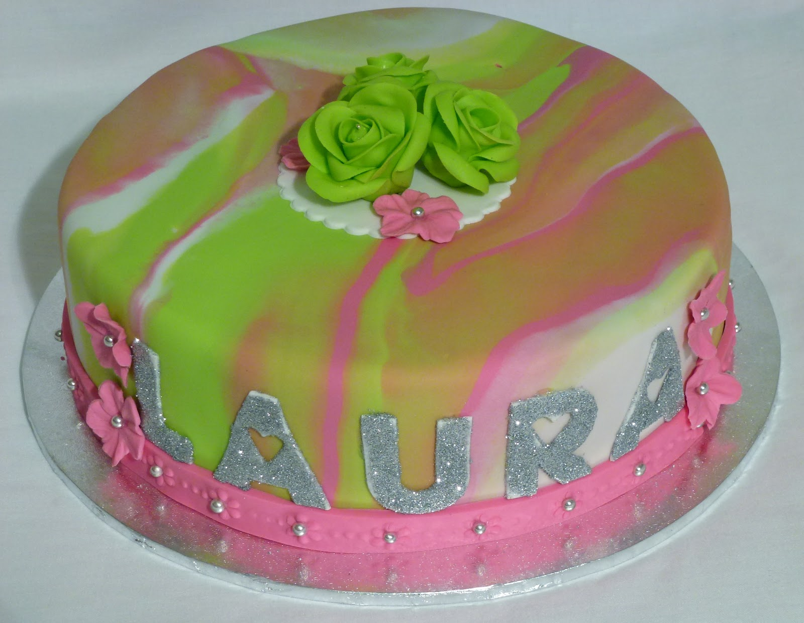 How To Make Marble Cake By Laura