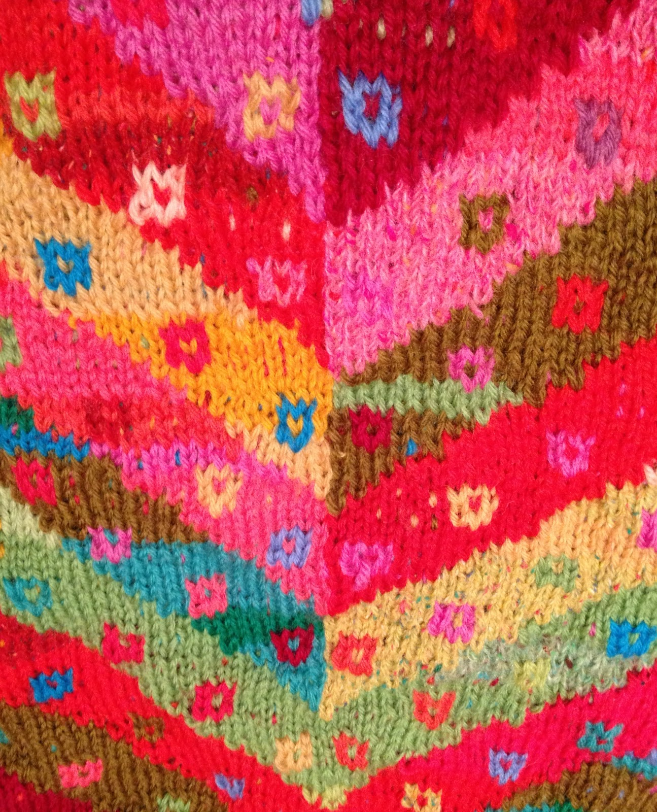 Kaffe Fassett Knitting Kits : Emma vining hand knitting