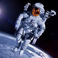 astronauta no espaço cideral