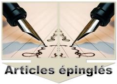 Sélection de chroniques - Articles épinglés