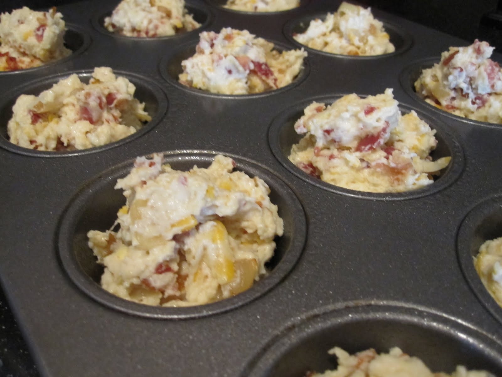 Kenyon Cooking: Bacon Onion Cheddar Biscuits