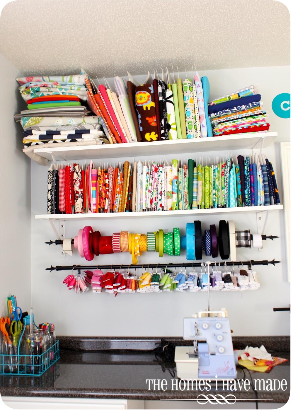 Craft supplies organization ideas - Craft Supplies Organization Ideas 16