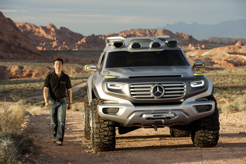 MercedesBenz EnerGForce A Look At GClass Of The Future - Mercedes benz philippines price list
